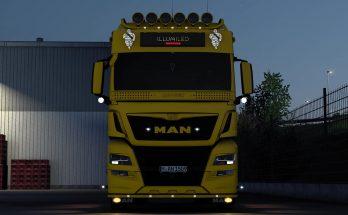 MAN TGX E6 2015 BY GLOOVER V.1.0 1.40
