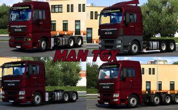 MAN TGX ESTILO BR-EDIT 1.40