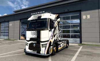 Renault T Evolution Acconcia & T skin v1.0
