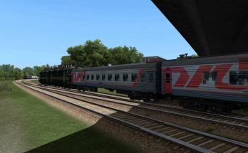 Russian trains for Russia map part only 1.40