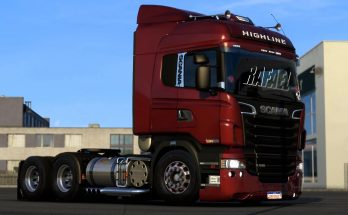 Scania R&S and 124G Brazilian edit 1.40