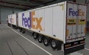 SKIN OWNED TRAILERS SCS FEDEX 1.40