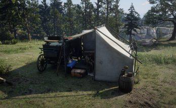 Alternate Tent For Arthur (Horseshoe Overlook)