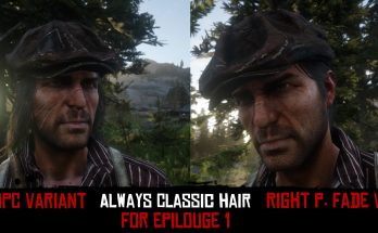 Always Classic Hair For Epilogue 1 (2 Variants)