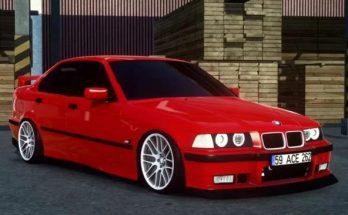 BMW 3 SERIES E36 SEDAN + INTERIOR V1.0 1.40.X