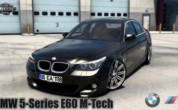 BMW 5-SERIES E60 M-TECH + INTERIOR V1.0 1.40.X