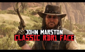 John Marston Classic RDR1 Face