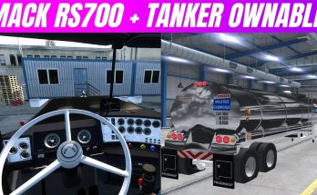 NEW MACK RS700 + TANK TRAILER BY BEAST RACING OB 1.40 - 1.41
