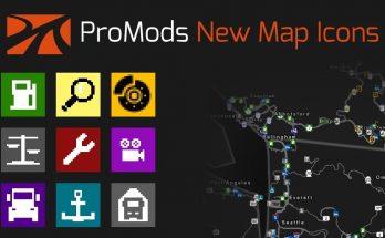 PROMODS NEW MAP ICONS V1.0