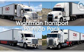 WIGHTMAN TRANSPORT PAINTJOB PACK V1.0.1