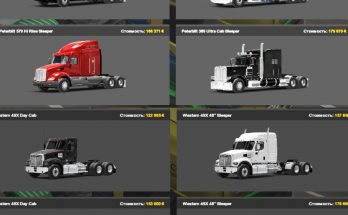 American truck pack for ETS2 1.40