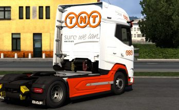 DAF21 XG Skin Pack TNT Express v1.0
