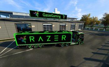 Razer DAF XG+ skin v1.0