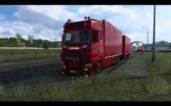 Scania S520 V8 Philip Judge Open pipe sound v1.0