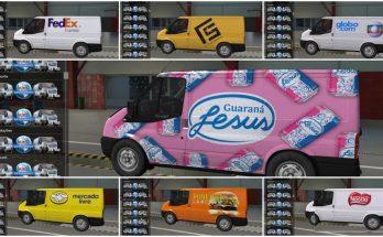 Skins brasileiras para Ford Transit v2.0