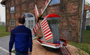 Windmill for you garden (placeable / transportable) v 1.0