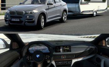 BMW X6M With Trailer v2.1