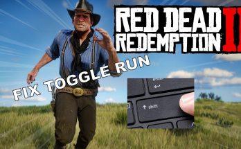 Fix Toggle Run On Keyboard