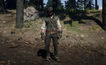 John Marston Cowboy Outfit