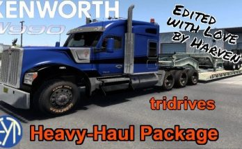 KENWORTH W990 8X CHASSIS 1.41