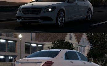 MERCEDES-BENZ W222 S-CLASS MAYBACH S650 V6.1