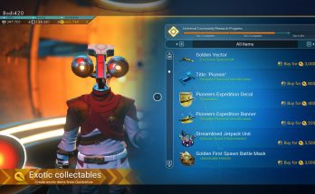Purchasable Expedition Rewards