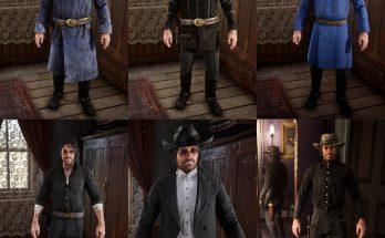 Restored Clothes in Wardrobe