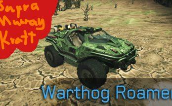 Supra Murray Kratt - Warthog for Roamer