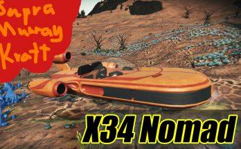Supra Murray Kratt - X-34 Landspeeder for Nomad