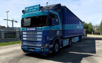 Skin JJ Verweij Scania RJL v1.0