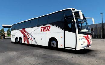 Volvo 7550 Classic Bus Mod - ETS2 1.41