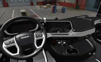DAF 2021 White Interior v1.0