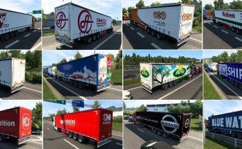Nissantruck ETS2 Ai Trailers Pack v2.0