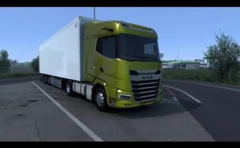 Paccar MX-13 Stock sound for DAF XF/XG 1.40 - 1.41