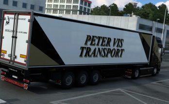 Peter Vis Transport DAF XF105 skin v1.0