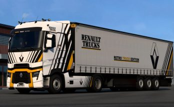 Renault Retro Truck Edition Combo v1.0