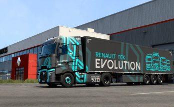 Renault Truck Evolution Skin Pack v1.0