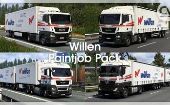 Spedition Willen skinpack 1.40