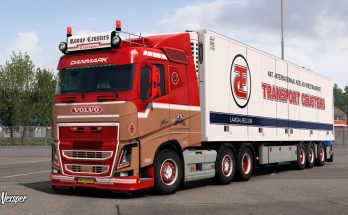 Volvo FH16 2012 Ronny Ceusters Skin Pack v1.0