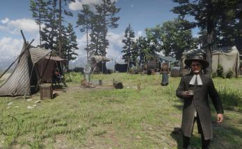 First Person Camp Run
