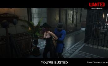Extended Arrest Screen