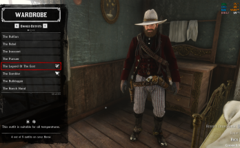 Legend Of The East Outfit For Arthur Challenge Fixer